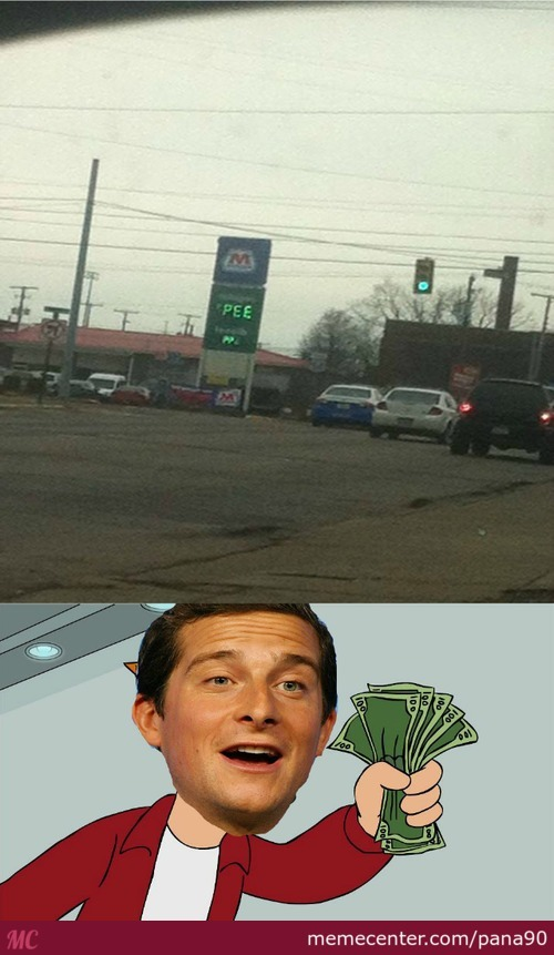 Perfect Gasoline For Bear Grylls