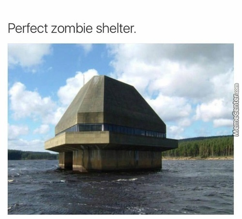 Perfect Place To Hide From Zombies