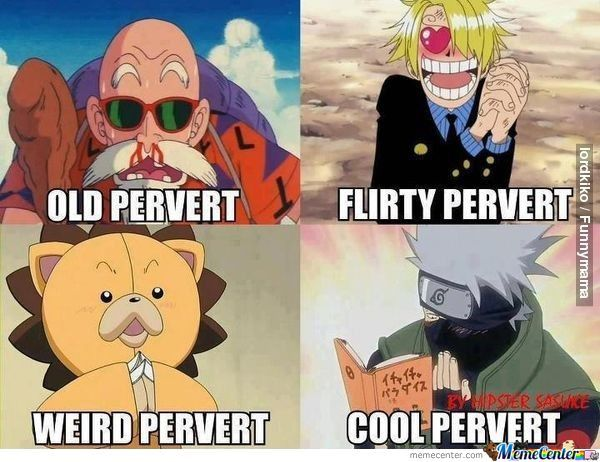 Pervert In Anime