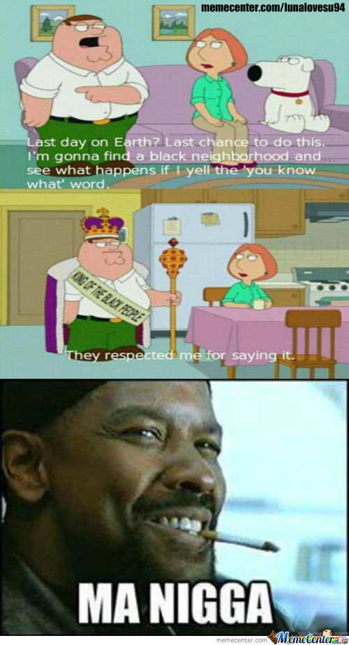 Peter Griffin King Of Black People