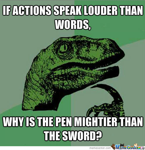 Philosoraptor On Words