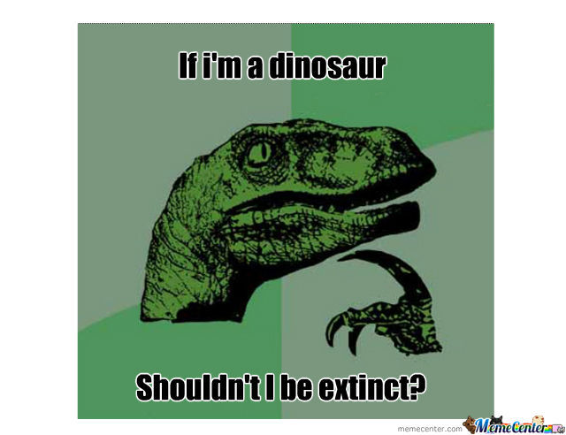 Philosoraptor Philosophizes Himself