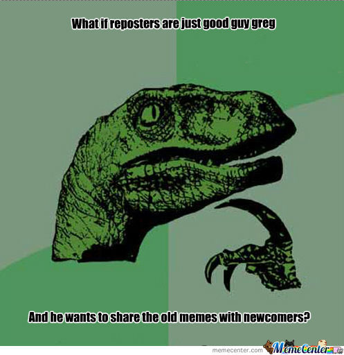 Philosoraptor Strikes Again.