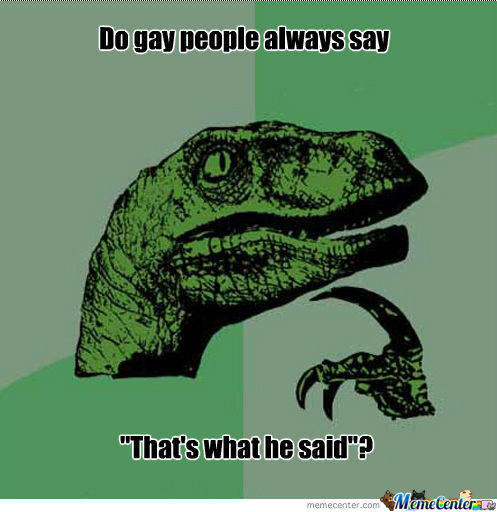 Philosoraptor's Thought