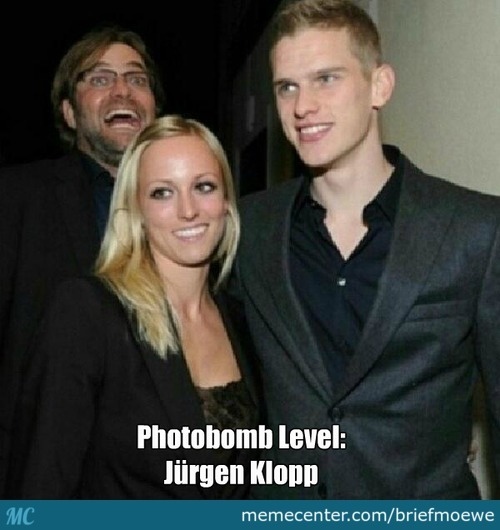 Photobomb By Jürgen Klopp