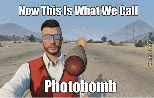 Photobomb Level: Gta V
