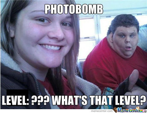 Photobomb Level: Unbeatable!