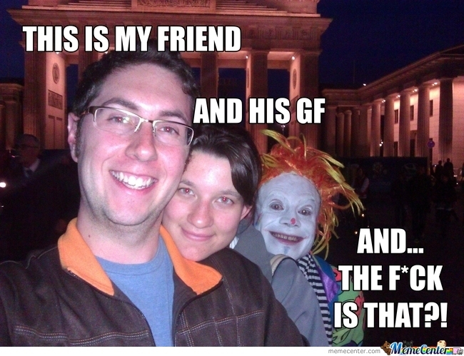 Photobomb Lvl Clown