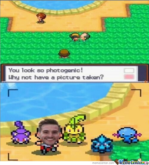 Photogenic Guy Plays Pokemon