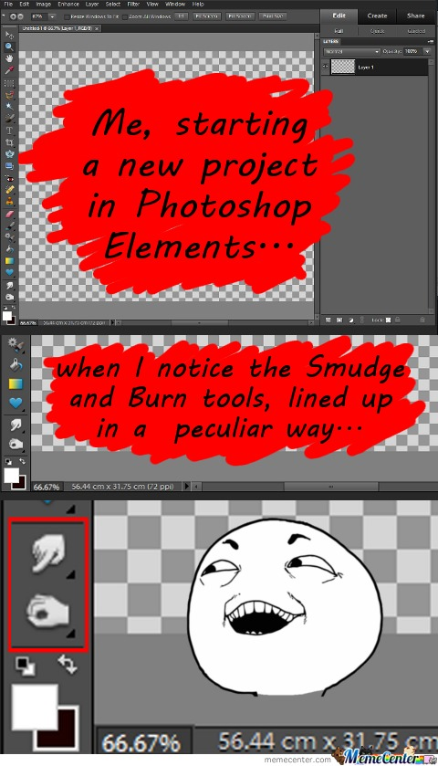 Photoshop.. I C What U Did There