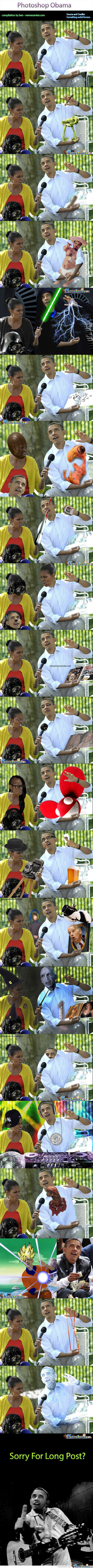 Photoshop Obama