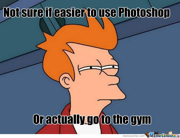 Photoshop Or Gym
