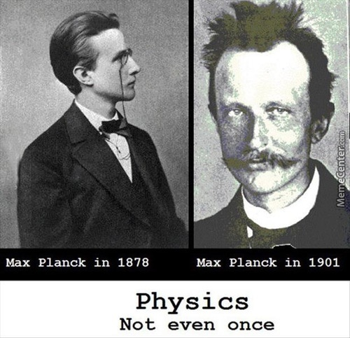 Physics Not Even Once.