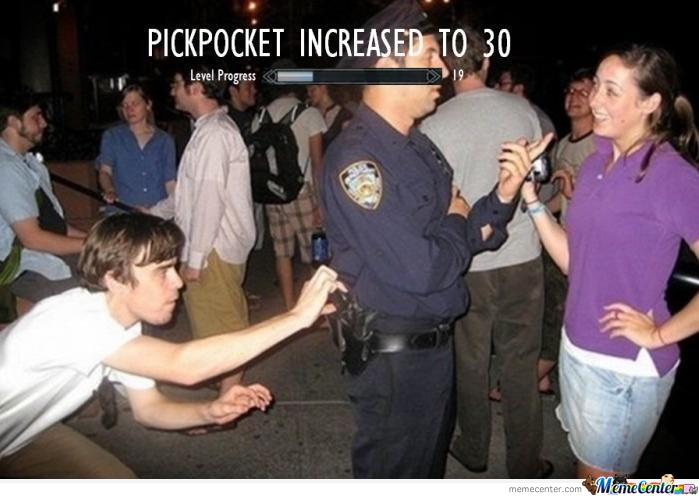 Pickpocket Increased!