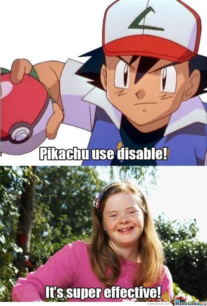 Pikachu Use Disable