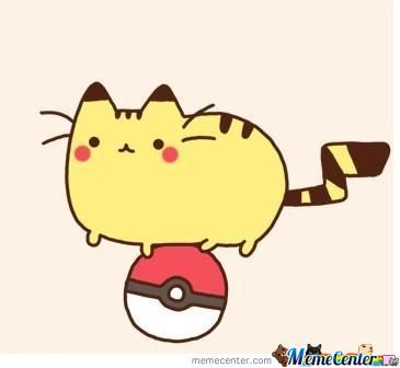 Pikasheen - Pusheen.tumblr