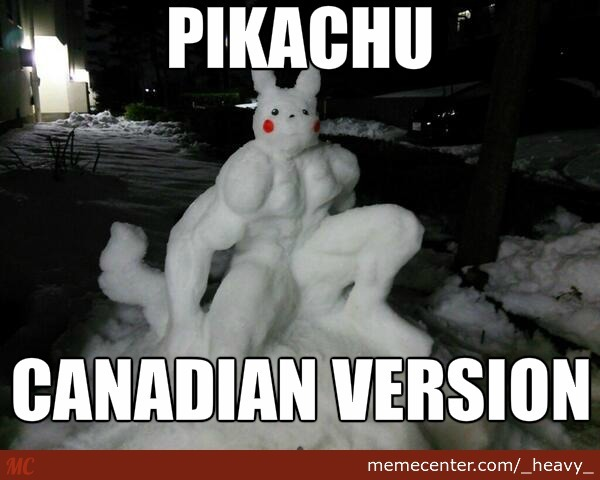 Pikasnow, Gotta Catch Em' All!
