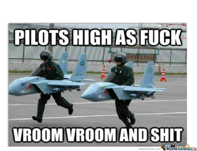 Pilots High As...
