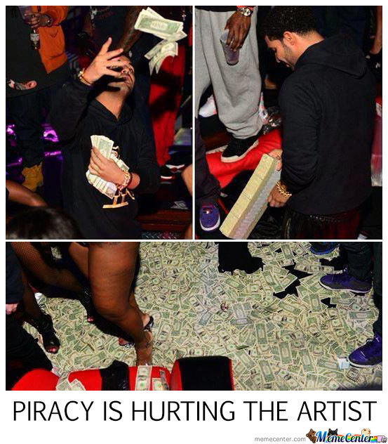 Piracy Hurts The Artist