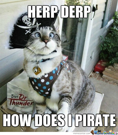 Pirate Kitteh