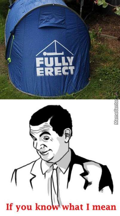 Pitching A Tent