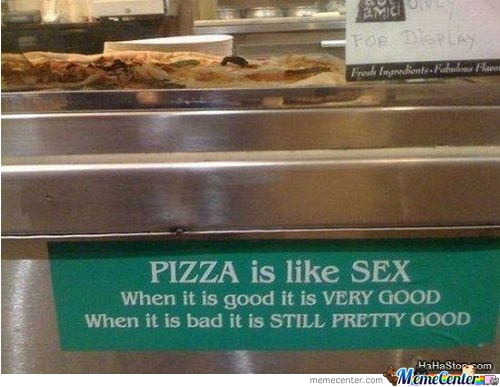 Pizza And Sex