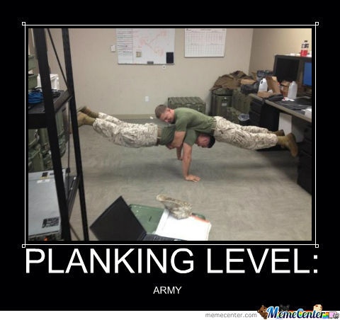 Planking Level: Army