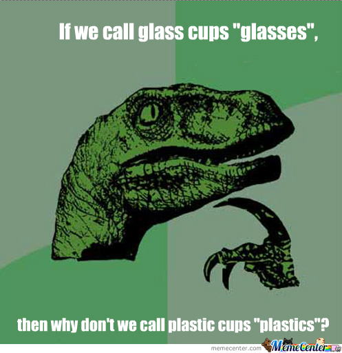 Plastic And Glass