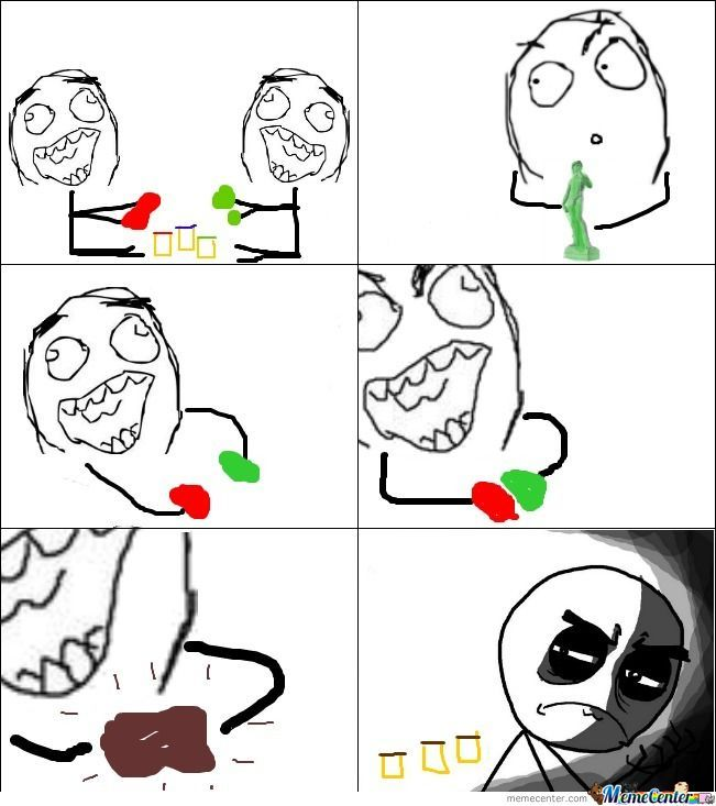 Play-Doh Rage As A Kid