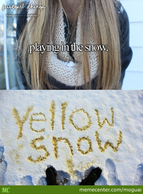 Play In The Snow