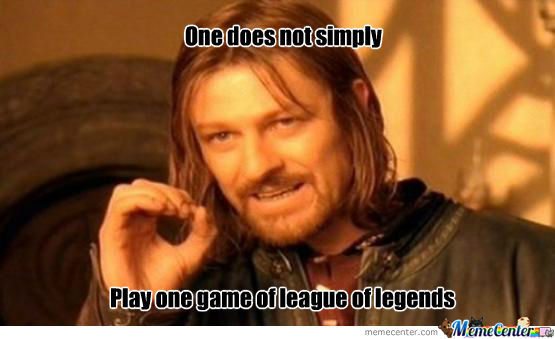 Play One Game Of League