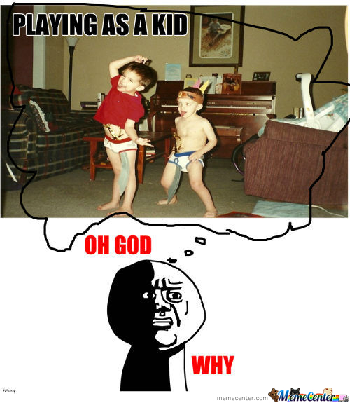Playing As A Kid