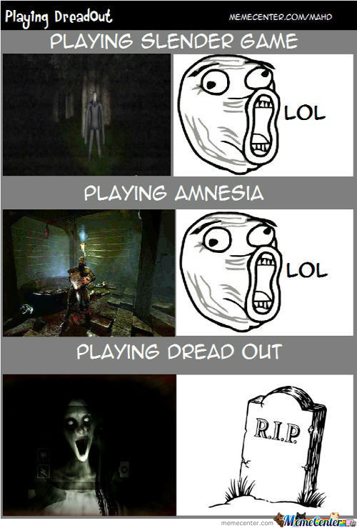 Playing Dreadout
