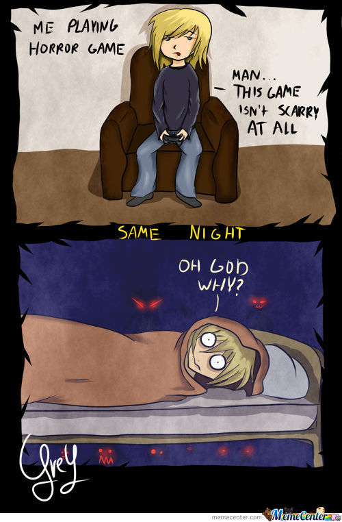 Playing Horror Games