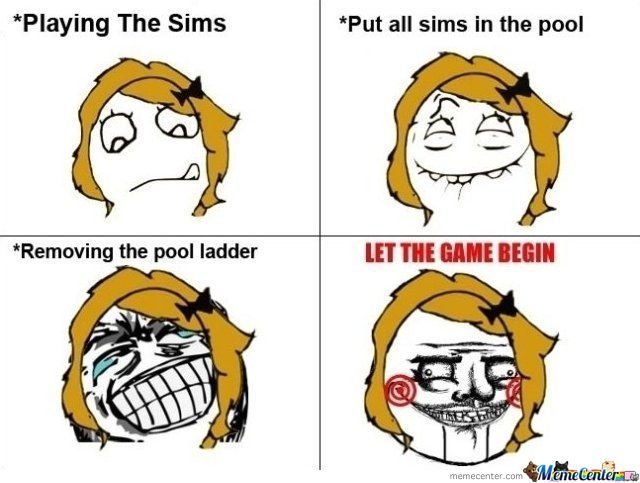 Playing The Sims