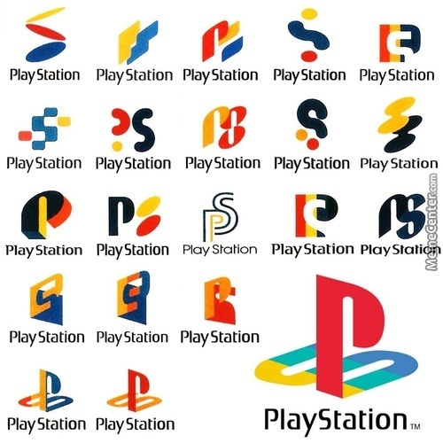 Playstation 1 Logo Concepts Glad They Ended Up With The Logo That We All Love