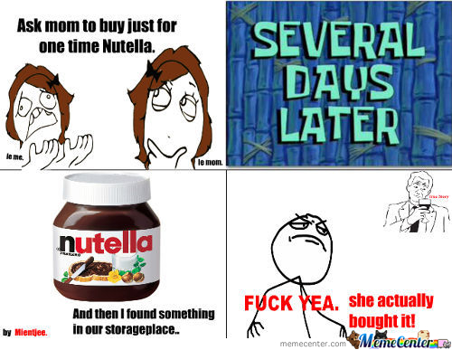 Please Buy Me The Nutella, Will You?