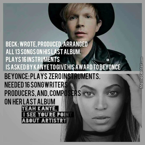 Plus Beck Transcends Genres As He Reinvents Them.