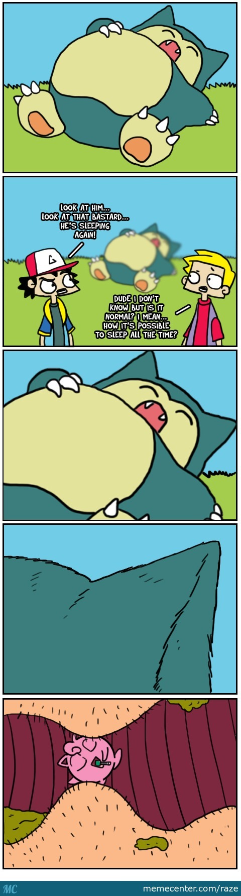 Pokemon Day: Zzzzzzzzzz