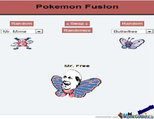 Pokemon Fusion 2: Mr.free