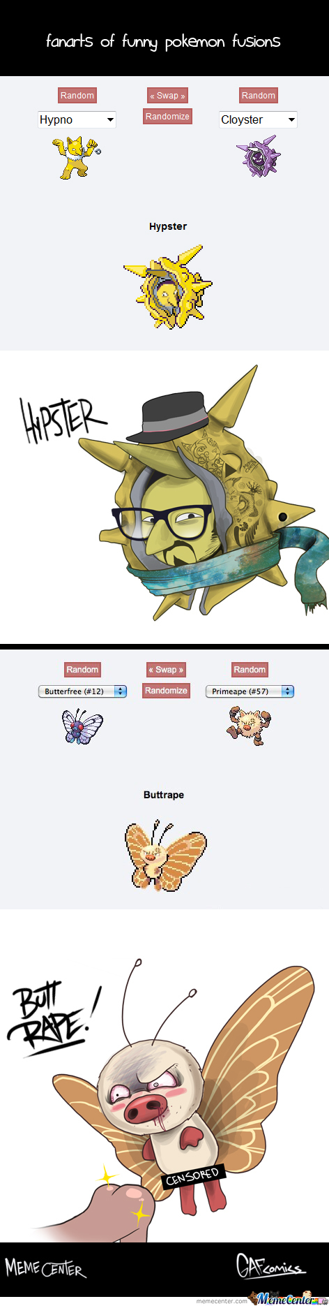 Pokemon Fusion on one does not simply pokemon