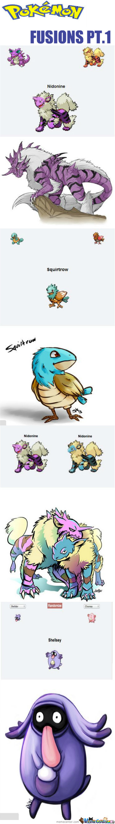 Pokemon Fusions Pt.1