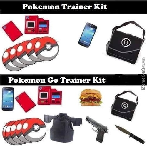 Pokemon Go Trainer Kit