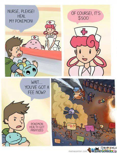 Pokemon Healthcare