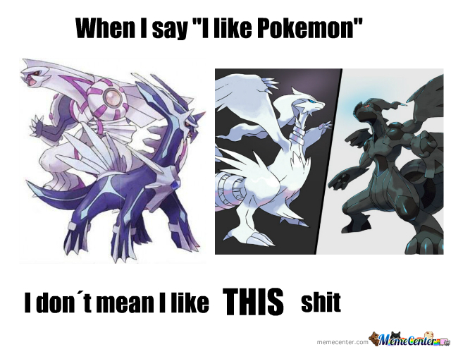 Pokemon Is Shitty Nowdays
