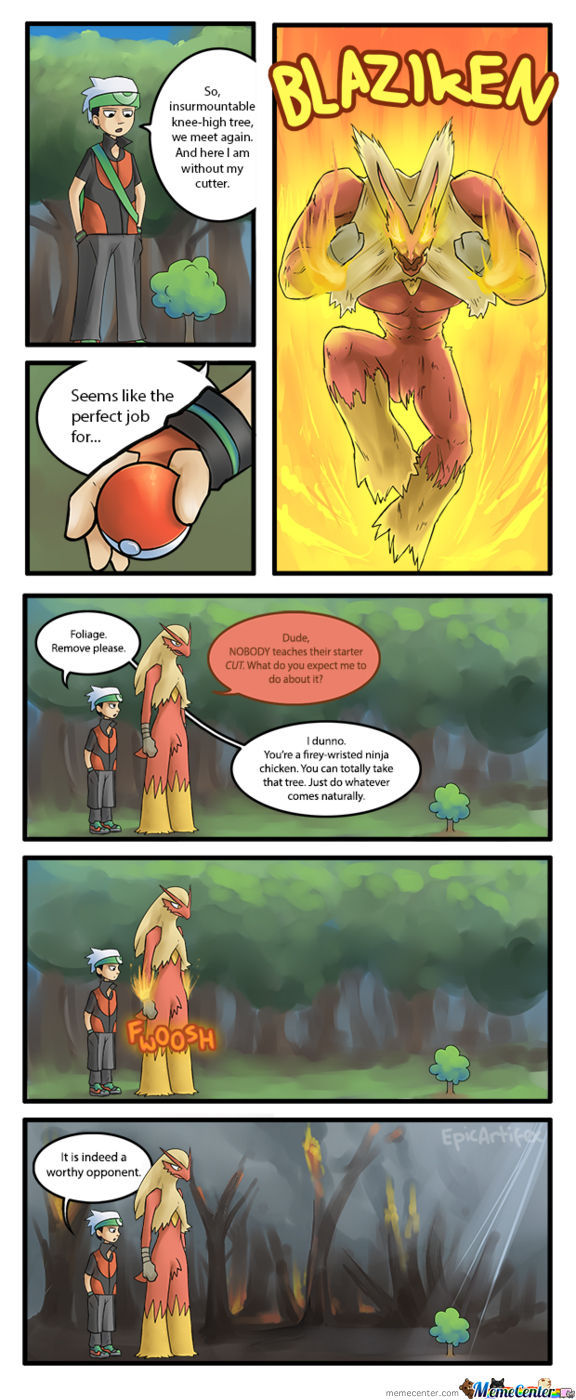 Pokemon Logic (Credit To Epicartifex From Da)