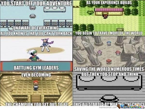 Pokemon Memories