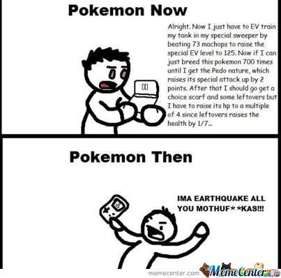 Pokemon Now And Then
