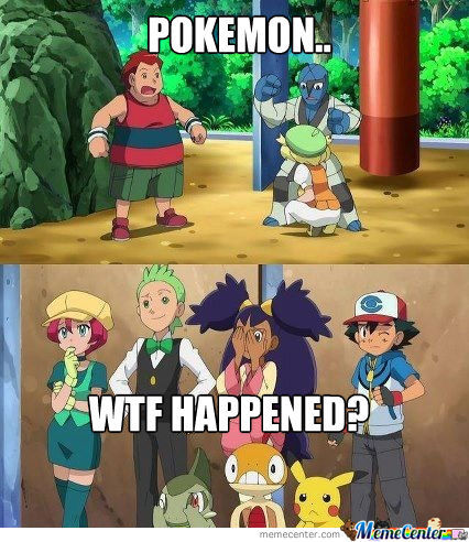 Pokemon You Dirty Basterds...