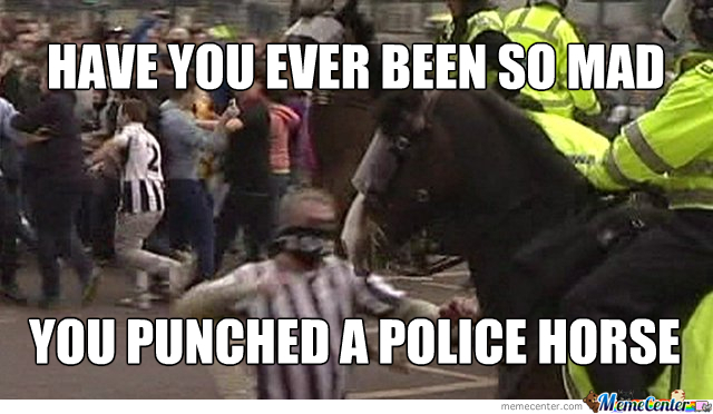 Police Horse Brutality